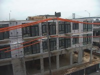 Modular Apartments All Installed on Site April 11, 2014