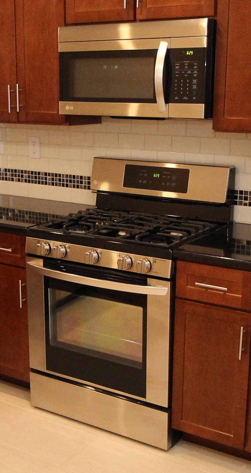 Gas Fired Cooktop