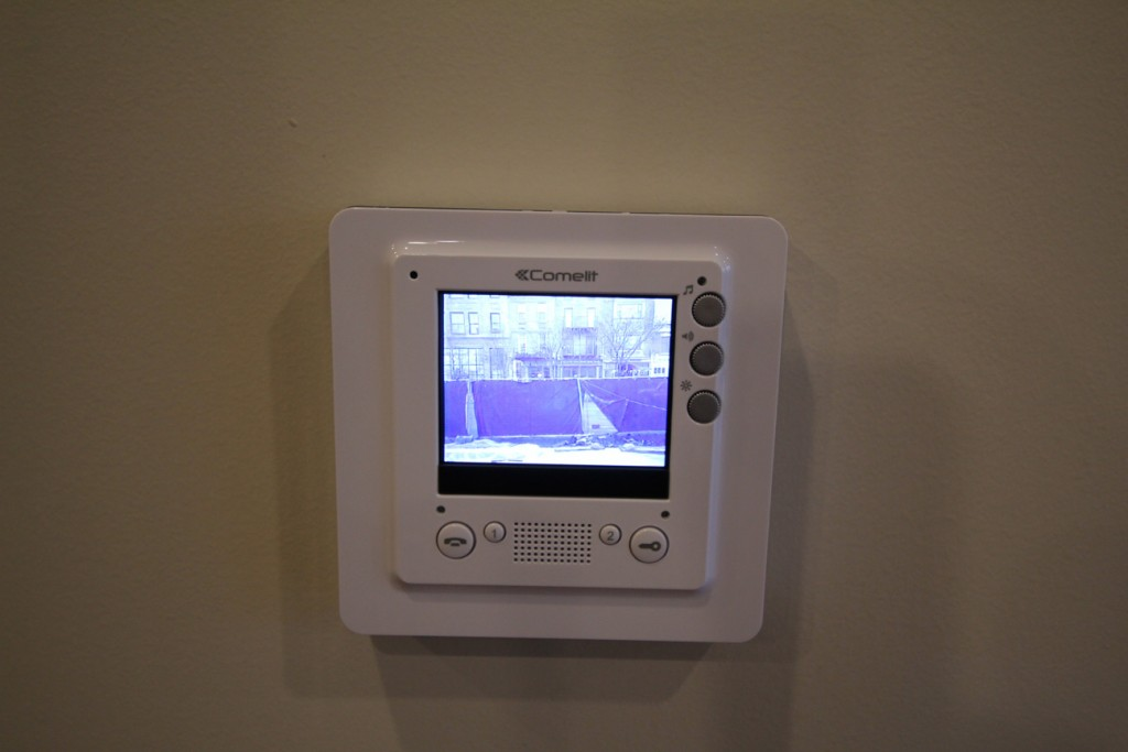 Closed-Circuit Security System and Remote Door Access Control